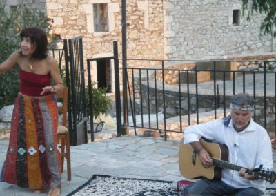 Νίκη Κάπαρη-αφήγηση Γιάννης Ψειμάδας-μουσική