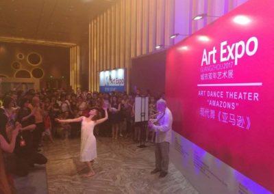 ''Ατθίδα''-Σαπφώ.χορεύει η Ε.Σιγαλού-Λύρα Γ.Ψειμάδας Guanzhou China