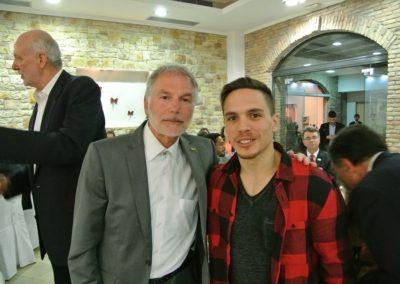 Με τον Λευτέρη Πετρούνια χρυσό Ολυμπιονίκη- Ολυμπία 2016