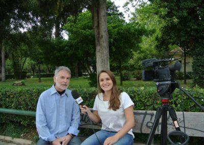 Συνέντευξη στο Sport tv του Rio για την τελετή Αφής